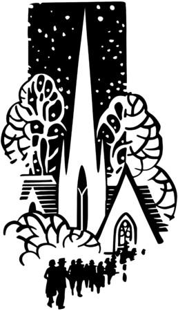 Church Motif Vector