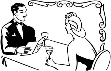 Classy Couple Dining