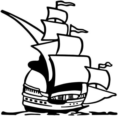clipper: Clipper Ship Illustration