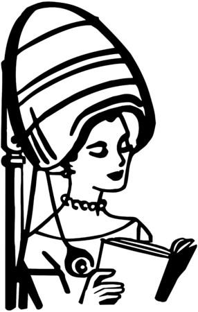literature: Beauty Salon Hair Dryer Illustration