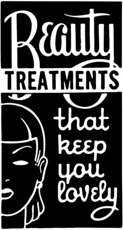 Beauty Treatments 2 Иллюстрация