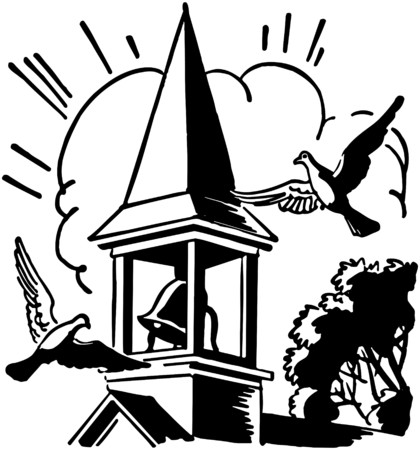 Bell Tower Vector