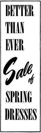 headings: Better Than Ever Sale