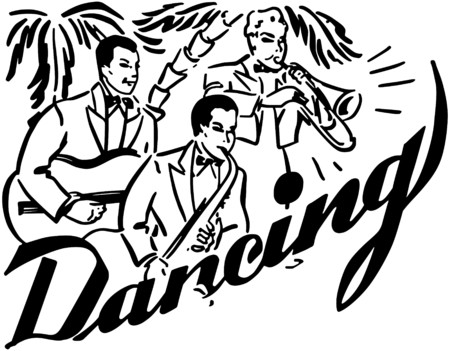 Big Band Dancing Vector