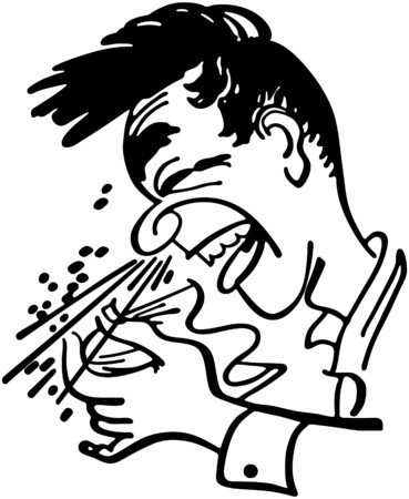 Big Sneeze Stock Vector - 28332976