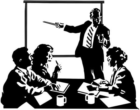 Board Meeting Vector