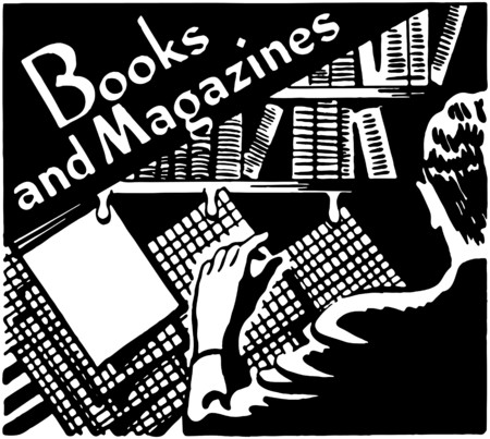 Books And Magazines Vector