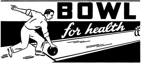 health and fitness: Bowl For Health 2 Illustration