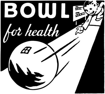 ten pin bowling: Bowl For Health 4