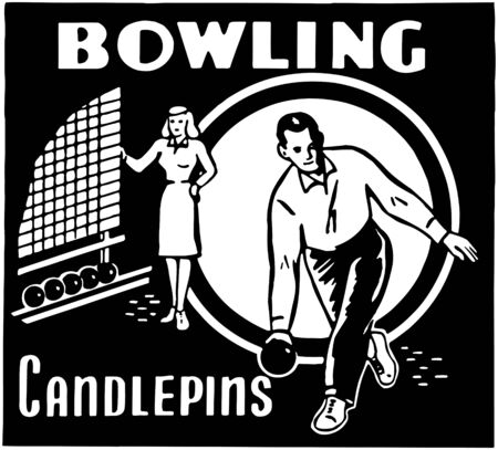 keep fit: Bowling Candlepins