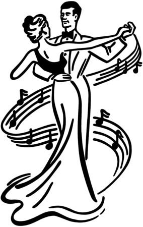 pareja bailando: Baile de los pares 2