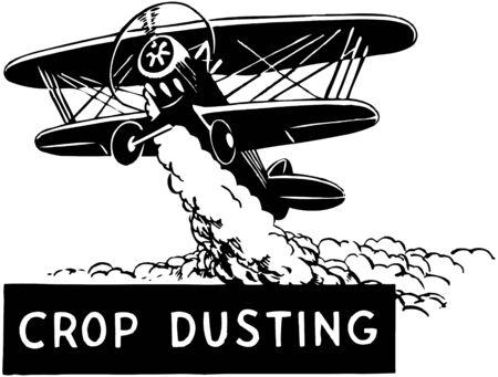 Crop Duster Vector