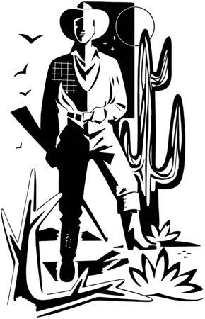 sheriffs: Desert Cowboy Motif