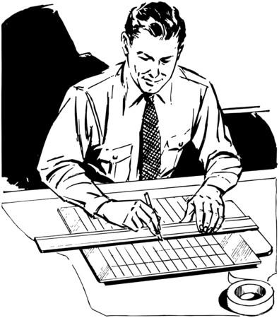 draftsman: Draftsman Illustration