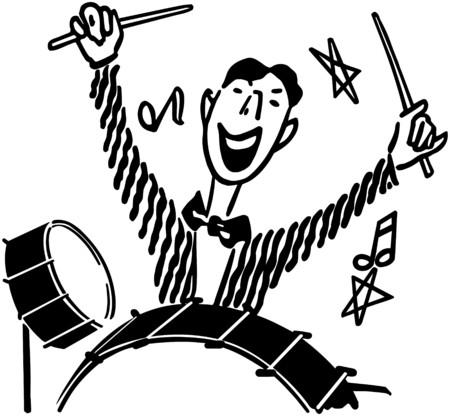 Drummer 版權商用圖片 - 28333531