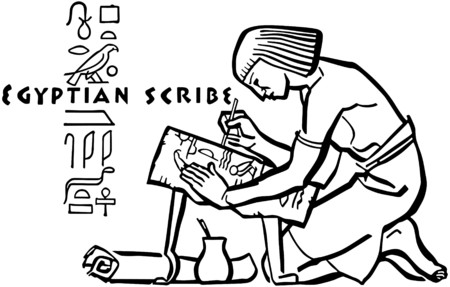 scribes: Egyptian Scribe