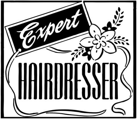 Expert Hairdresser Фото со стока - 28333592