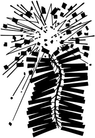 Exploding Firecrackers Vector