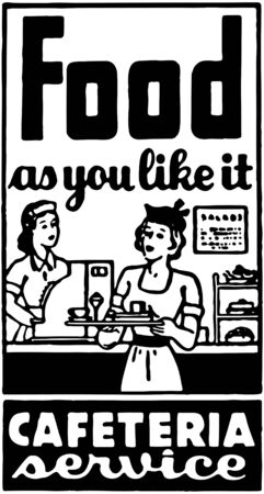 cafeterias: Food As You Like It 2 Illustration