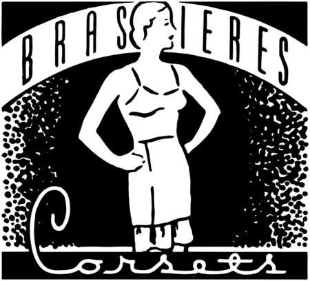 undergarment: Brassieres