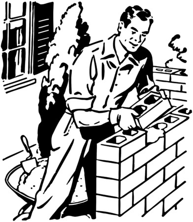 industrious: Bricklayer