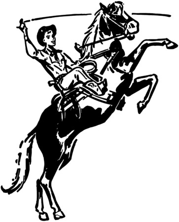 holster: Bucking Bronco