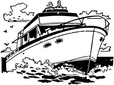 pleasure boat: Cabin Cruiser