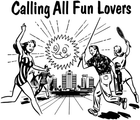 workouts: Calling All Fun Lovers Illustration