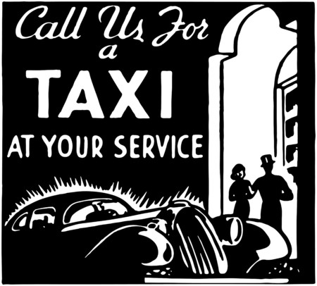 Call Us For A Taxi 3  イラスト・ベクター素材