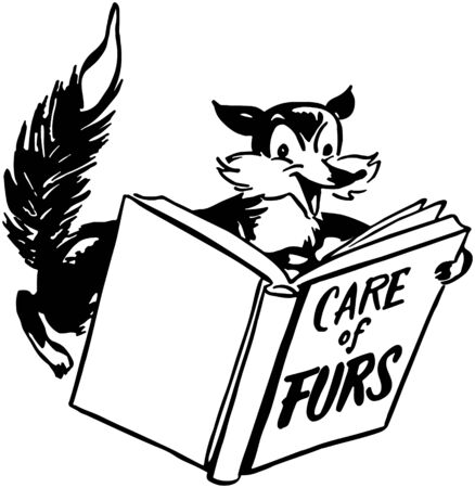 Care Of Furs Vector