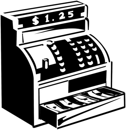 greenbacks: Cash Register