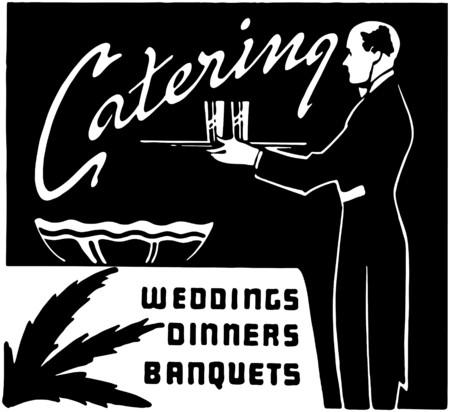Catering Stock Illustratie