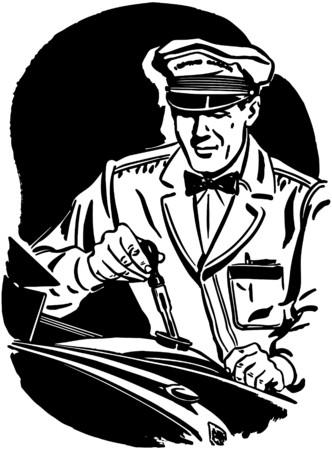 frieren: Frostschutz �berpr�fen Illustration