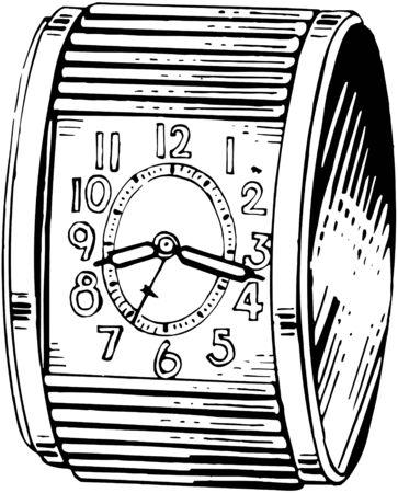 timepieces: Circular Alarm Clock