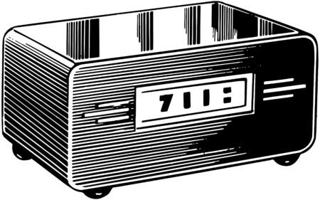 clock radio: Radio Reloj