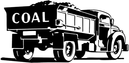 retro truck: Coal Truck
