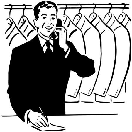 Coat Check Clerk