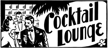 Cocktail Lounge 4 Иллюстрация