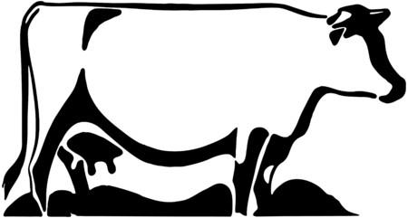 Cow 2 Vector
