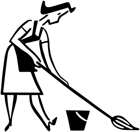 Daily Cleaning Vector