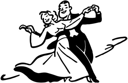 Dance Couple 2 Stock Vector - 28334751