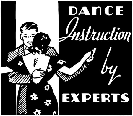 instru��o: Instru��o da dan�a Ilustra��o