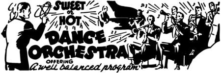 drumming: Dance Orchestra Illustration