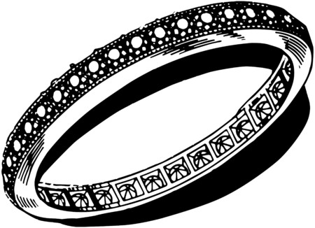 diamond clip art: Diamond EngagementRing Illustration