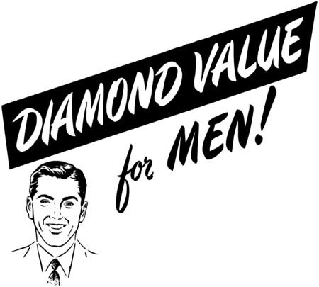 mens: Diamond Value For Men