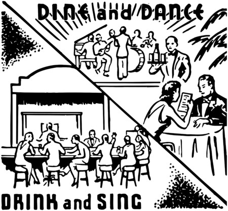 diners: Dine And Dance 2 Illustration