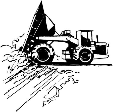 heavy construction: Dump Truck