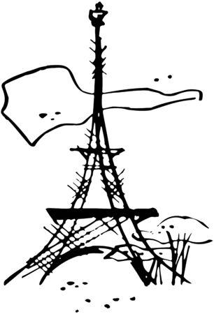 francais: Eiffel Tower