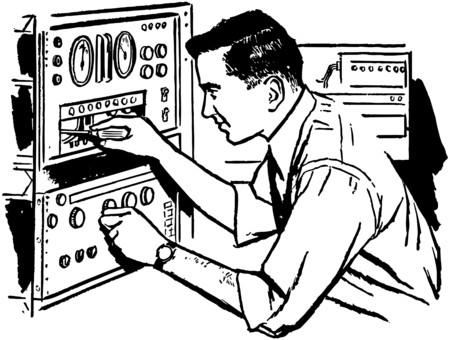 Electronics Technician 2 Ilustração