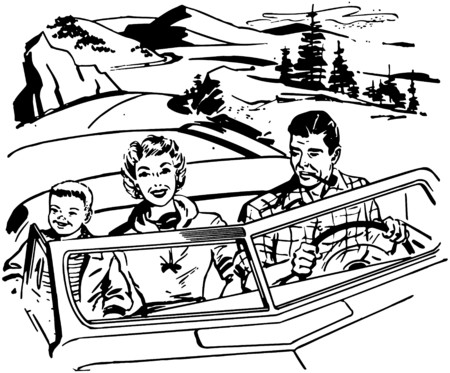 motorists: Family Road Trip